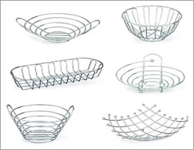 Bright Wire Fruit Baskets
