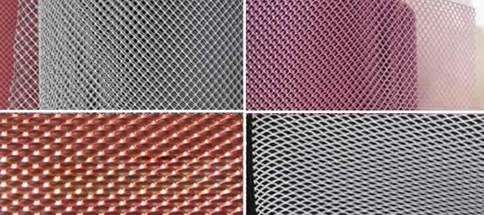 Micro Hole Stainless Steel Expanded Metal Mesh For Filter Uses