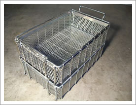 Wire Mesh Basket Containers