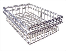 Chrome Plated Steel Mesh Basket